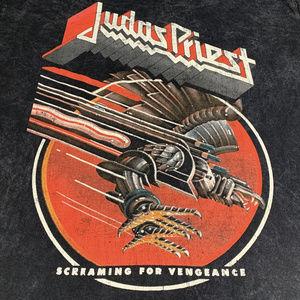 Judas Priest Screaming Vengance Tee L